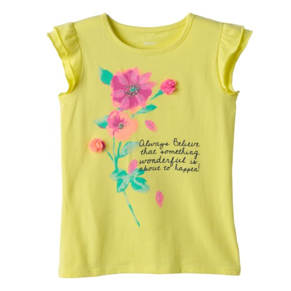 Girls 4-10 SONOMA Goods for Life™ Graphic Tee