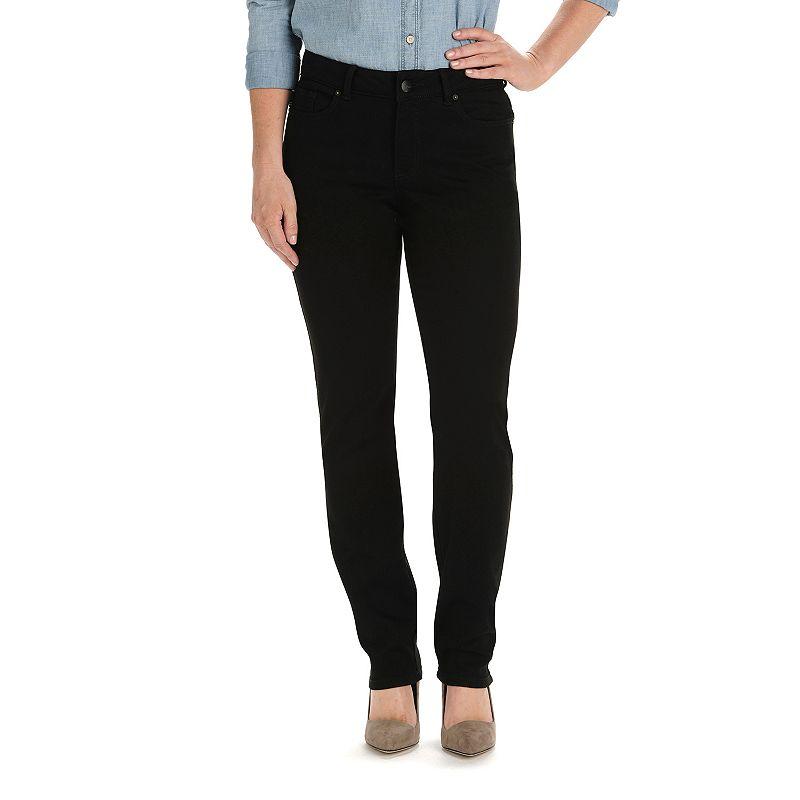 Women's Lee Modern Fit Curvy Straight-Leg Jeans