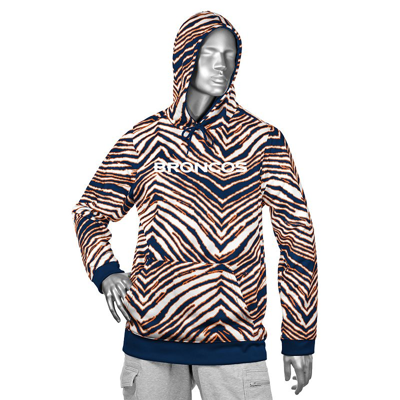 Men's Zubaz Denver Broncos Fleece Hoodie