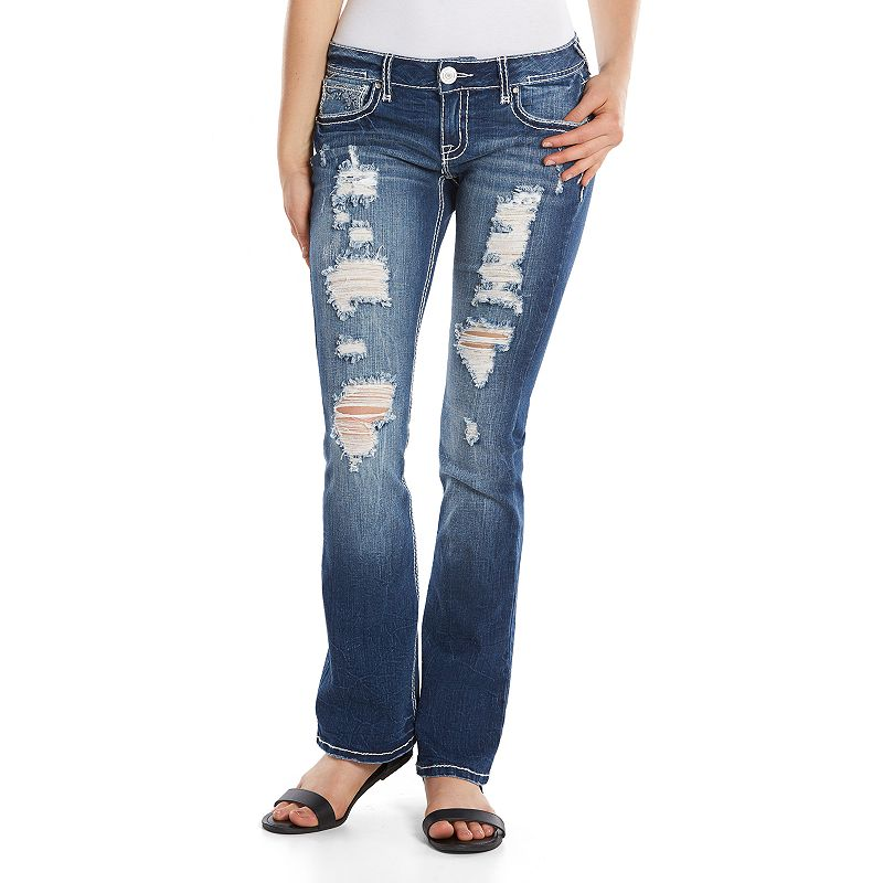 Juniors' Series 31 Midrise Hourglass Bootcut Jeans