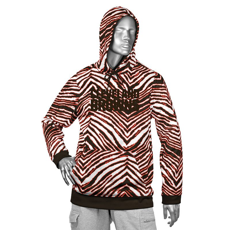 Men's Zubaz Cleveland Browns Fleece Hoodie