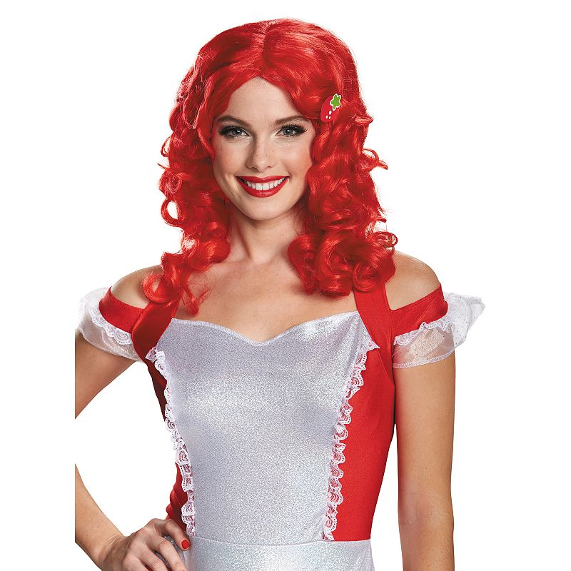 Strawberry Shortcake Costume Wig - Adult