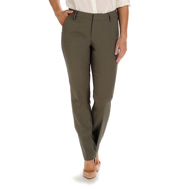 Women's Lee Modern Fit Curvy Straight-Leg Pants