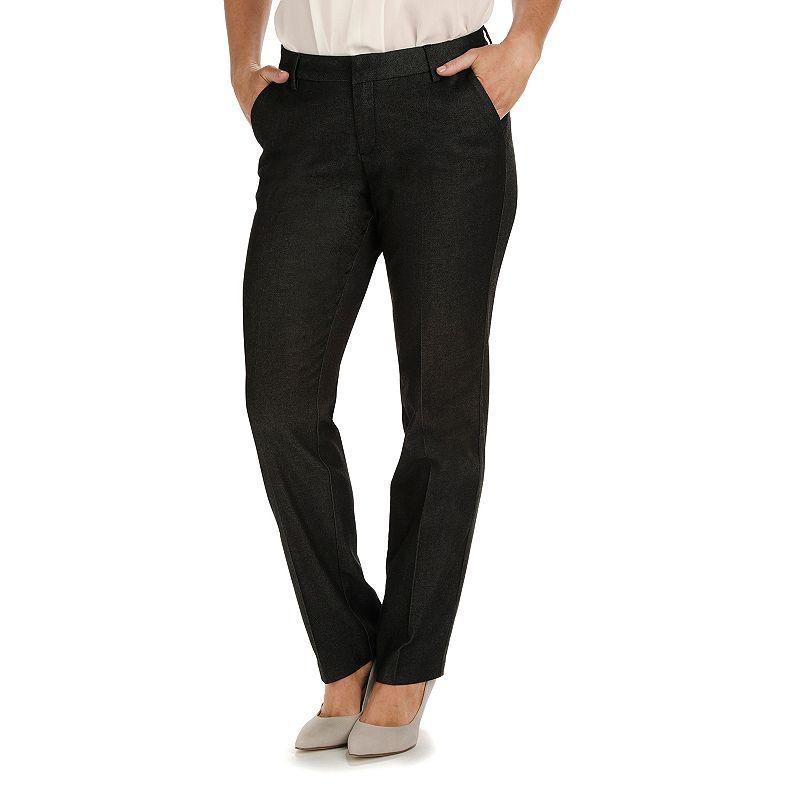 Women's Lee Modern Curvy Fit Straight-Leg Pants