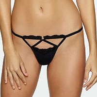Jezebel Claudia Strappy G-String Thong Panty 52040 - Women's