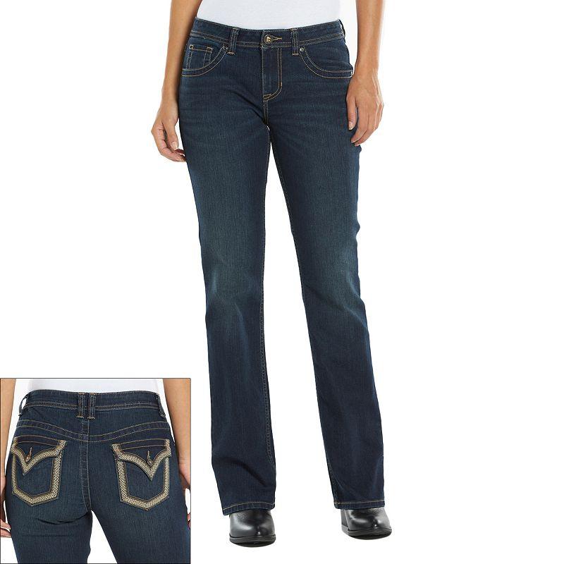 Apt. 9® Modern Fit Embellished Bootcut Jeans - Women's