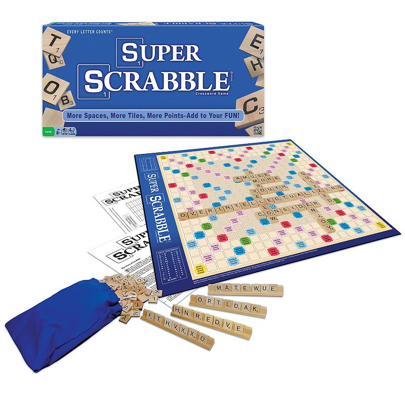 Super Scrabble Game by Winning Moves