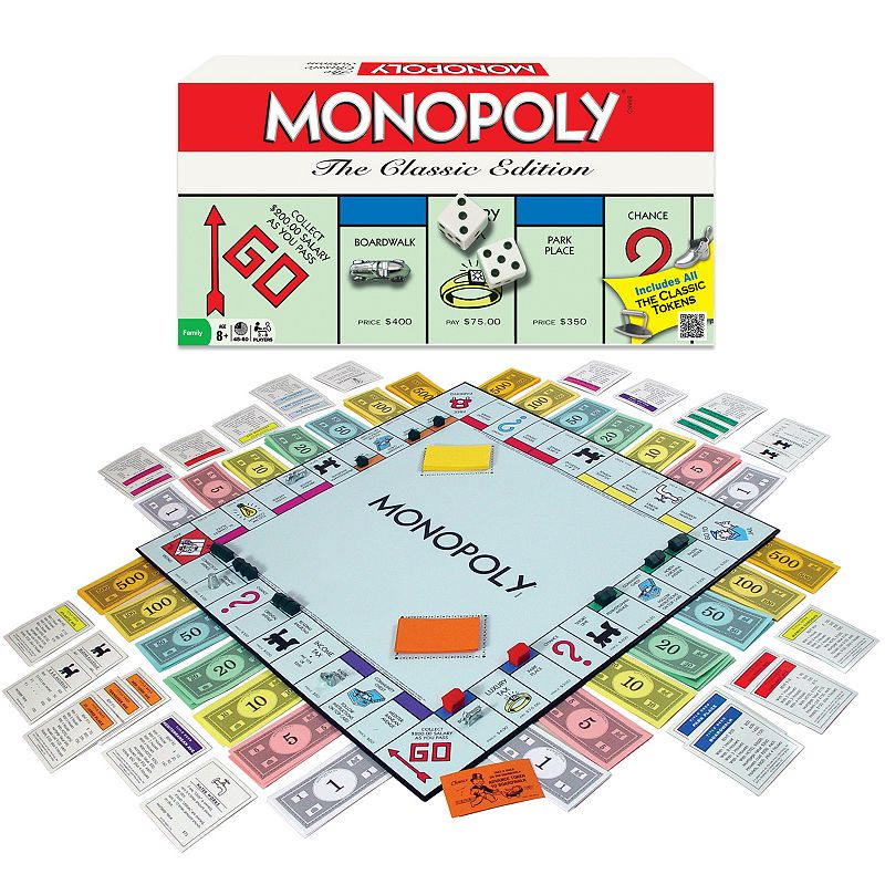 Monopoly Classic Edition Game by Winning Moves