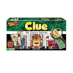 Clue Classic Edition by Winning Moves Games