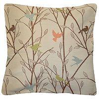 Spencer Home Decor Tweets Bird Throw Pillow