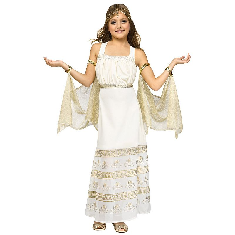 Golden Goddess Costume - Kids