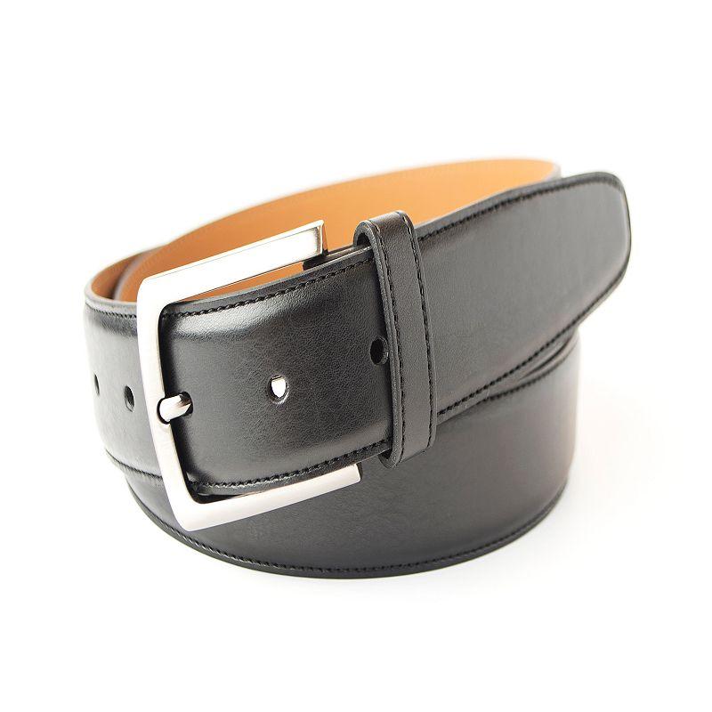 Men's Croft & Barrow® Feather Edge Milled Dress Belt
