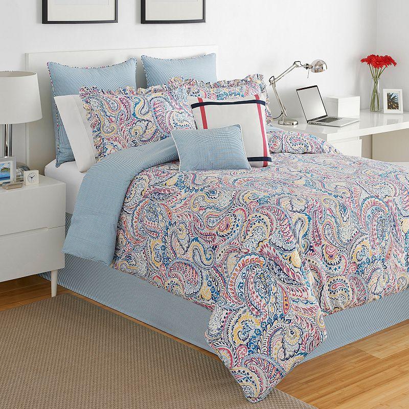 IZOD Winward Reversible Comforter Set