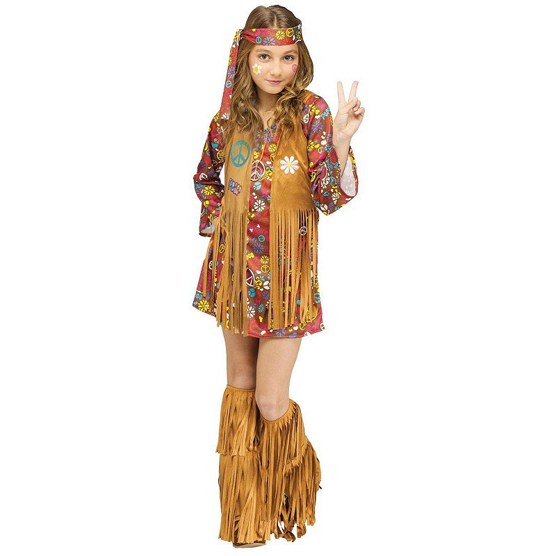 Peace & Love Hippie Costume - Kids