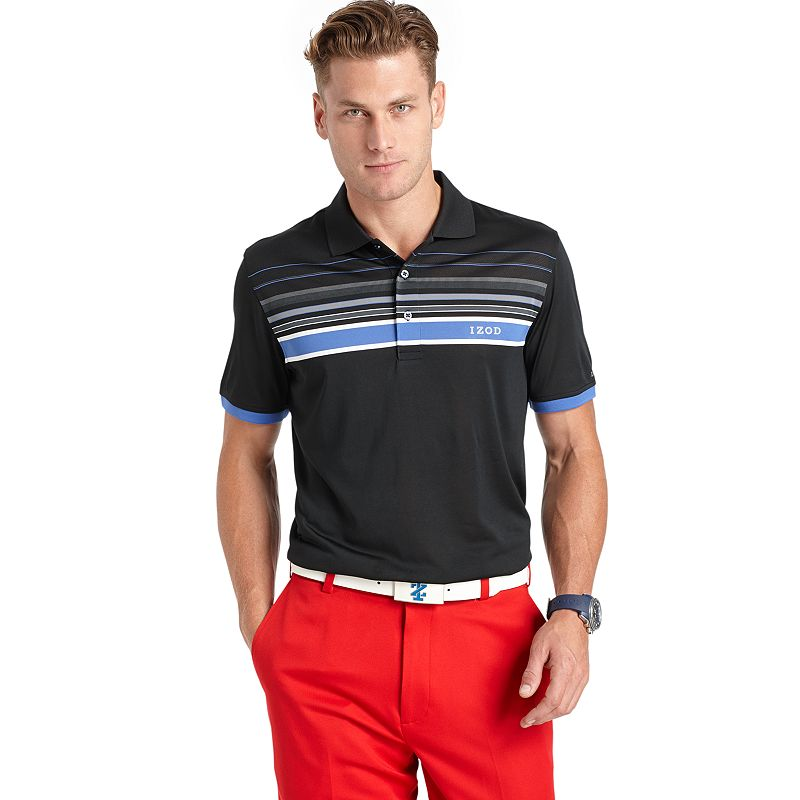 Men's IZOD Engineer Striped Golf Polo