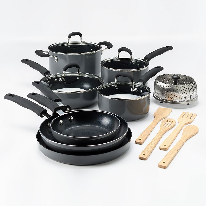 Food Network™ 16-pc. Nonstick Aluminum Cookware Set