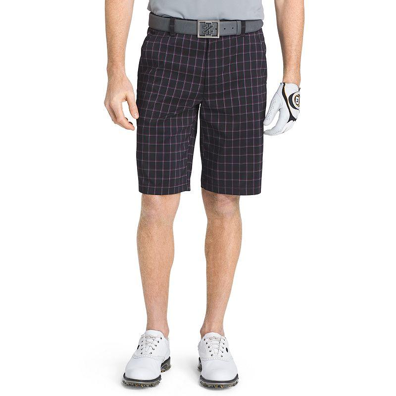 Men's IZOD Windowpane Performance Golf Shorts
