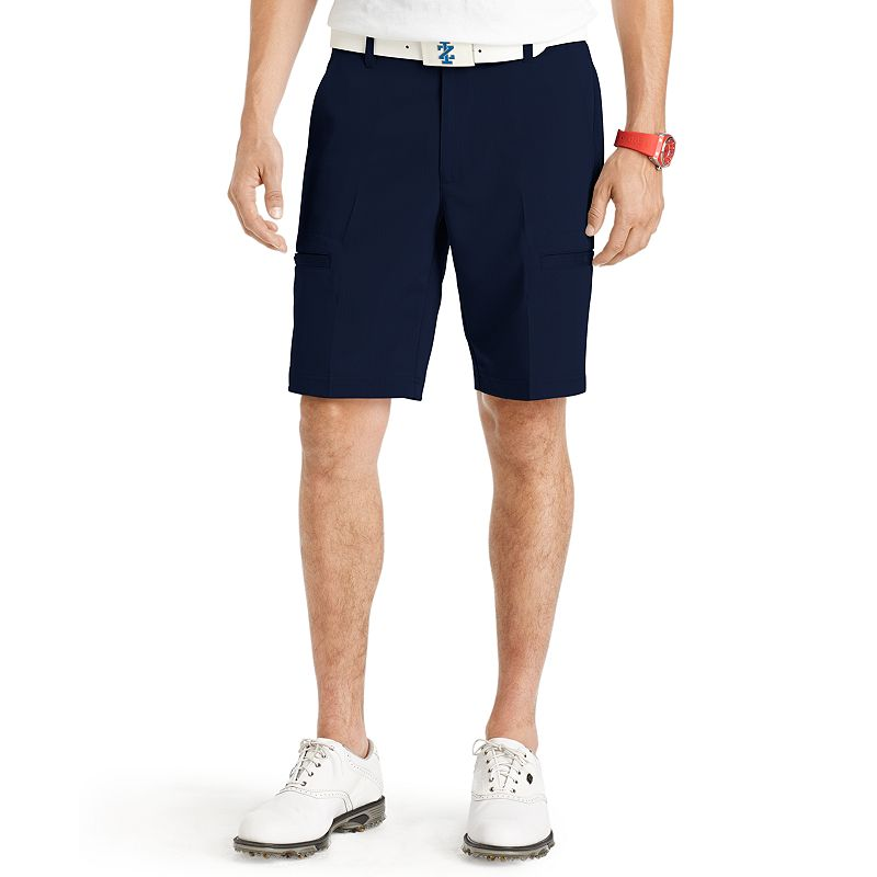 Men's IZOD Herringbone Cargo Performance Golf Shorts