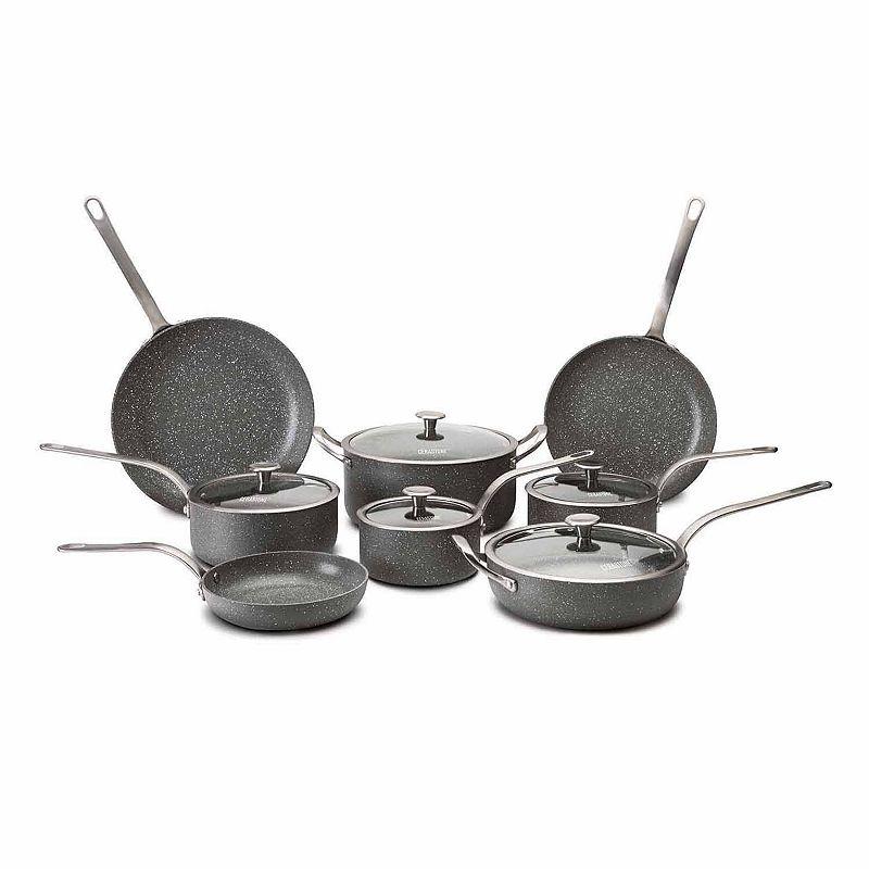 CeraStone Granite Peak 13-pc. Nonstick Aluminum Cookware Set