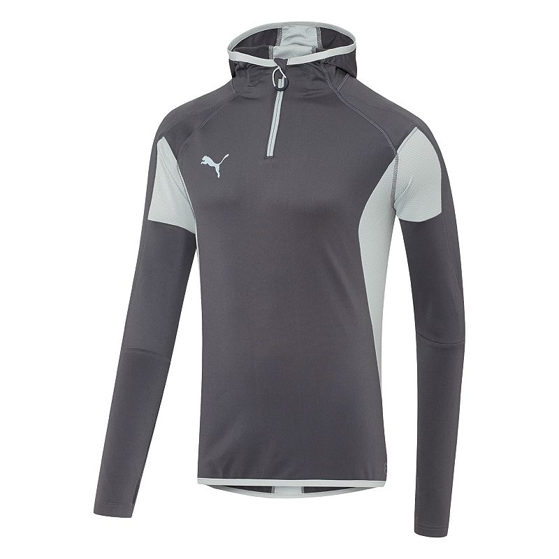 Men's PUMA Quarter-Length Pullover Hoodie