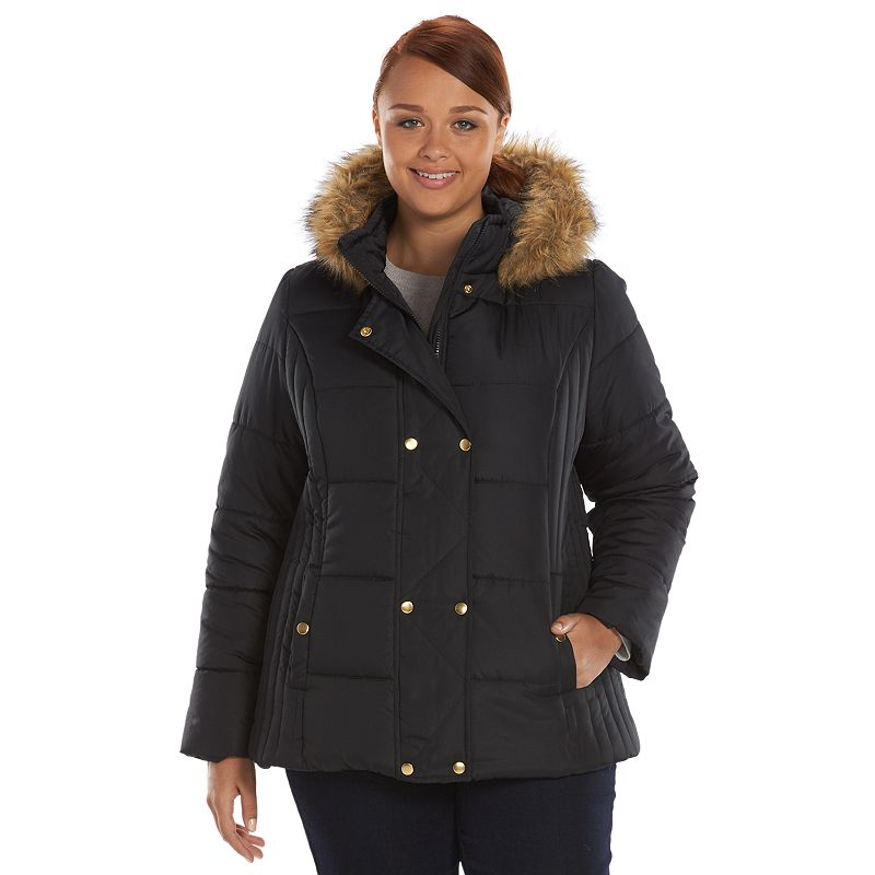 Plus Size Krush Hooded Puffer Jacket