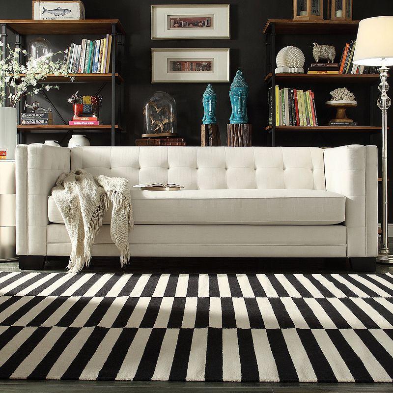 Homevance White Ladera Sofa Dealtrend