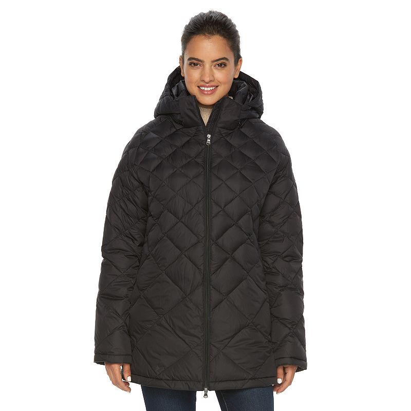 Women's Hemisphere Hooded Quilted Packable Down Jacket
