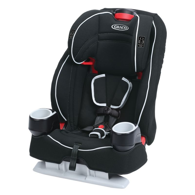 Graco Atlas 65 2-in-1 Harness Booster Car Seat, Red