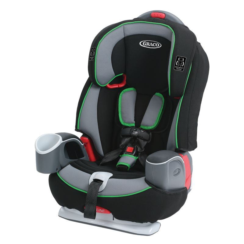 Graco Nautilus 65 3-in-1 Harness Booster Car Seat, Green