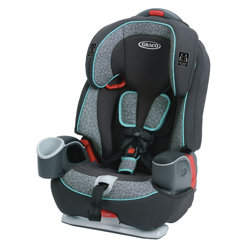 Graco Nautilus 65 3-in-1 Harness Booster Car Seat, Blue