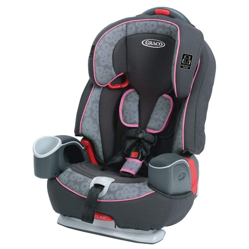 Graco Nautilus 65 3-in-1 Harness Booster Car Seat, Pink