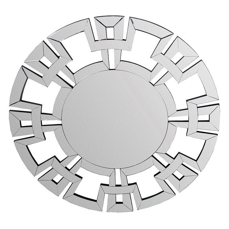 Privilege Geometric Accent Mirror