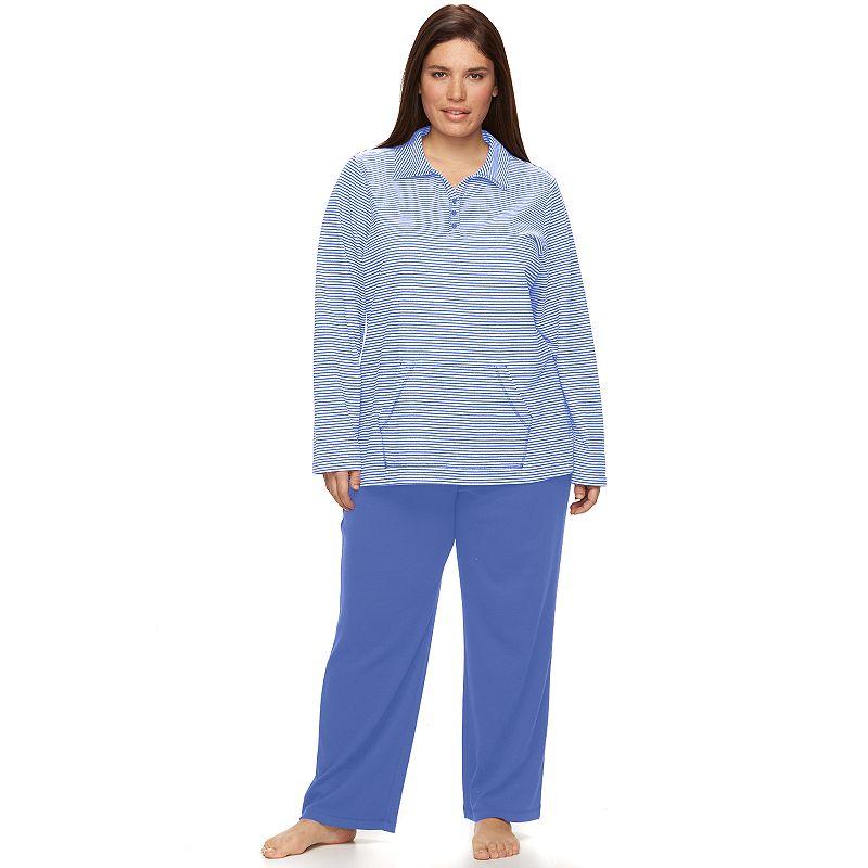 Plus Size Croft & Barrow® Pajamas: Swept Away Lounge Pajama Set
