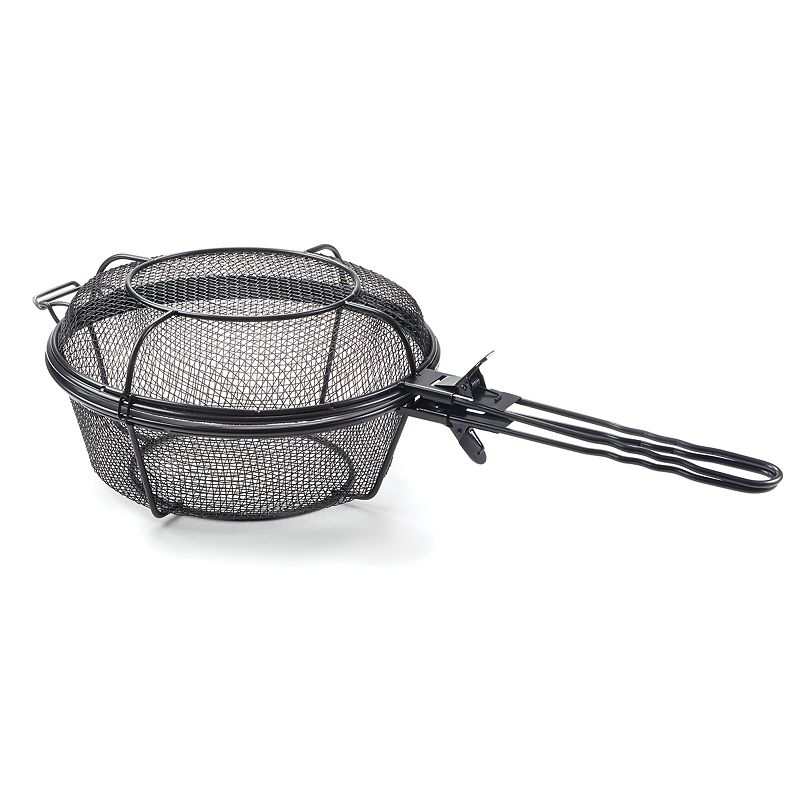 Outset Nonstick Chef's Jumbo Outdoor Grill Basket & Skillet