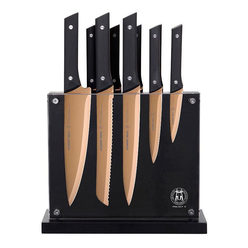 Schmidt Brothers 12-pc. Copper Knife Set