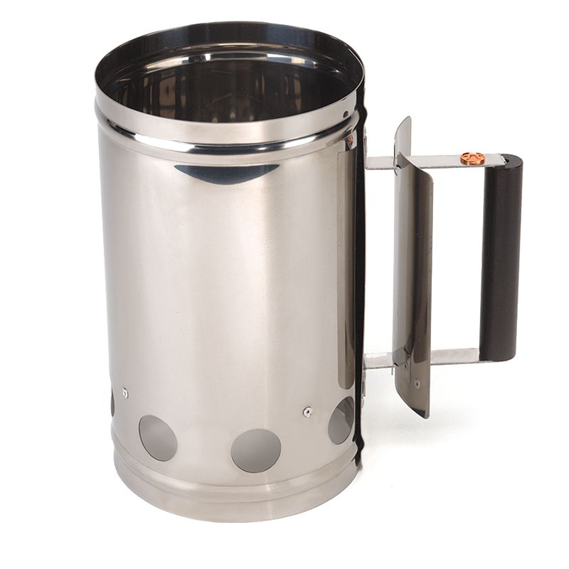 Outset 5-lb. Stainless Steel Chimney Grill Starter