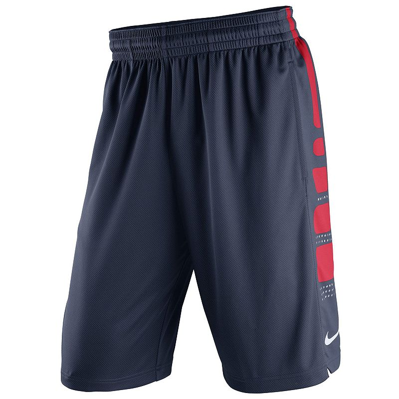 Men's Nike Arizona Wildcats Elite Striped Basketball Shorts