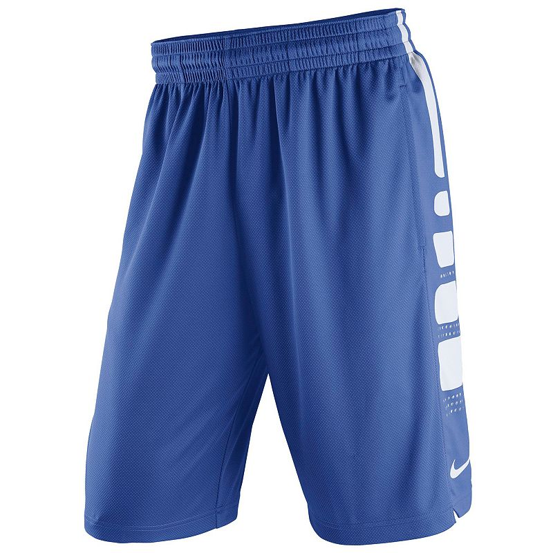 Men's Nike Duke Blue Devils Elite Striped Basketball Shorts