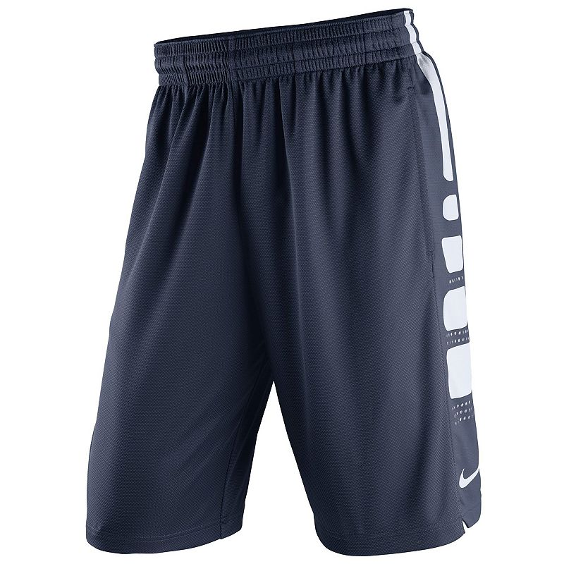 Men's Nike UConn Huskies Elite Striped Basketball Shorts