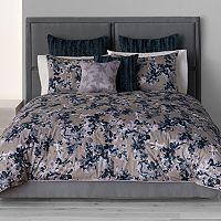 Simply Vera Vera Wang Midnight Floral 3-pc. Comforter Set