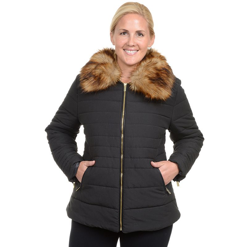 Plus Size Excelled Puffer Jacket