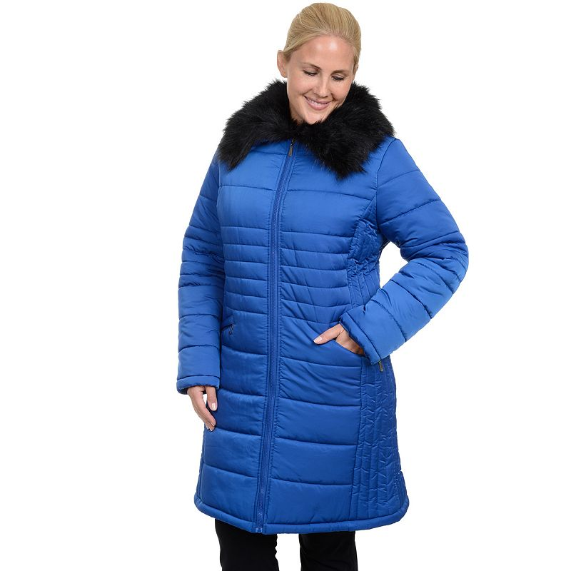 Plus Size Excelled Quilted Puffer Jacket