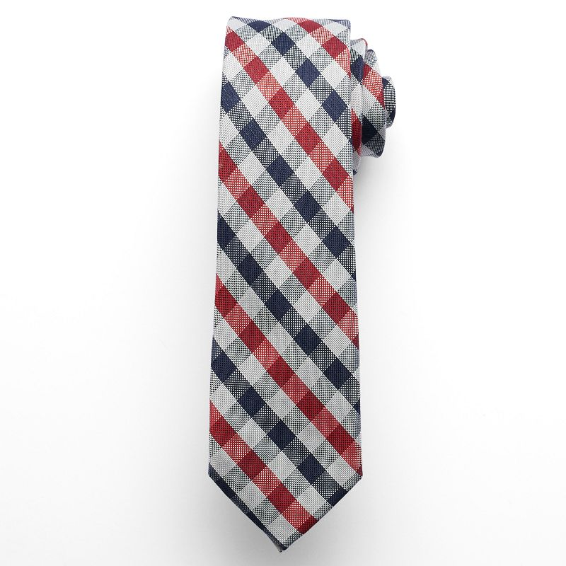 IZOD Seasonal Gingham Skinny Tie - Men
