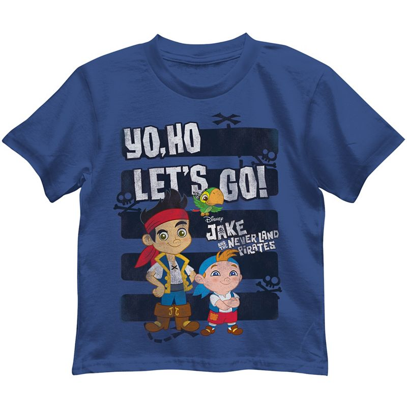 Disney's Jake and the Never Land Pirates Blue Tee - Baby Boy