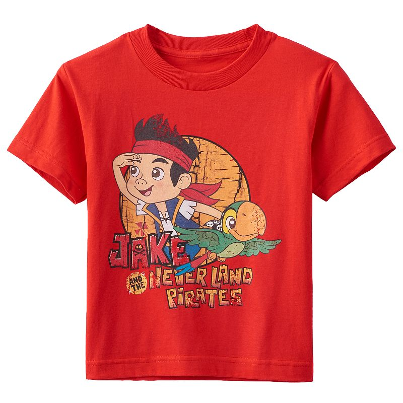Disney's Jake and the Never Land Pirates Jake & Skully Tee - Baby Boy