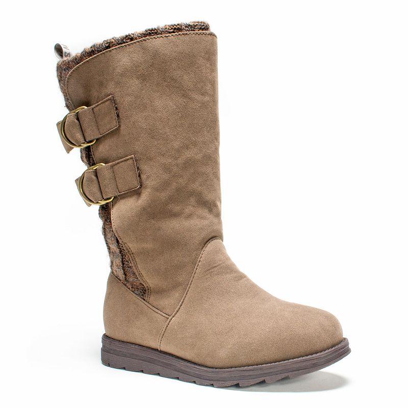 MUK LUKS Luna Women's Buckle Boots