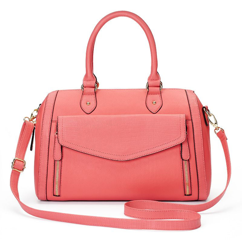Apt. 9® Olivia Zipper Convertible Barrel Bag
