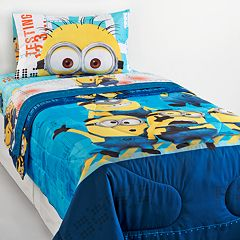Despicable Me Minions Testing 1234 Bed Set by