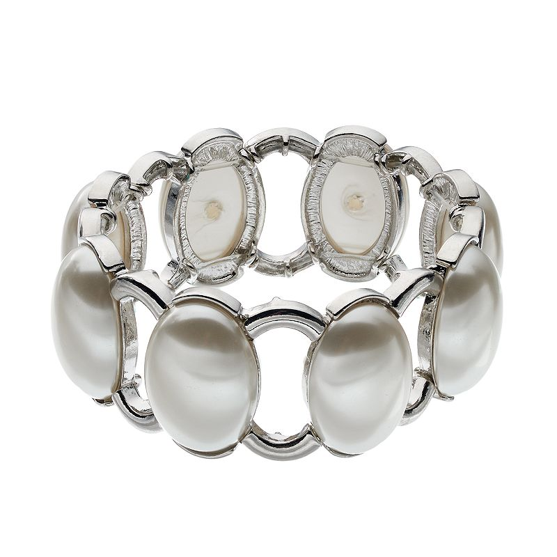 Croft & Barrow® Oval Stretch Bracelet