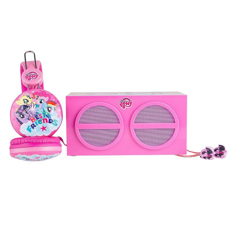 My Little Pony 3-Piece Stereo Speaker & Headphone Set by Sakar